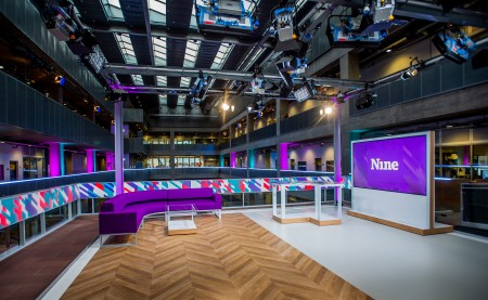 'Nine' the new BBC Scotland News show Pics by Alan Peebles